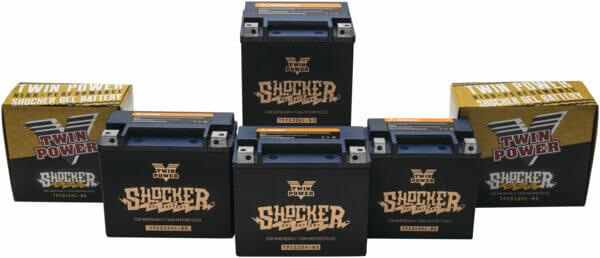 Twin Power Shocker Gel Batteries