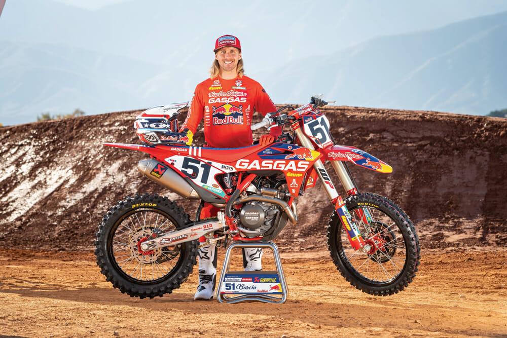 Troy Lee Designs/Red Bull/GasGas rider Justin Barcia