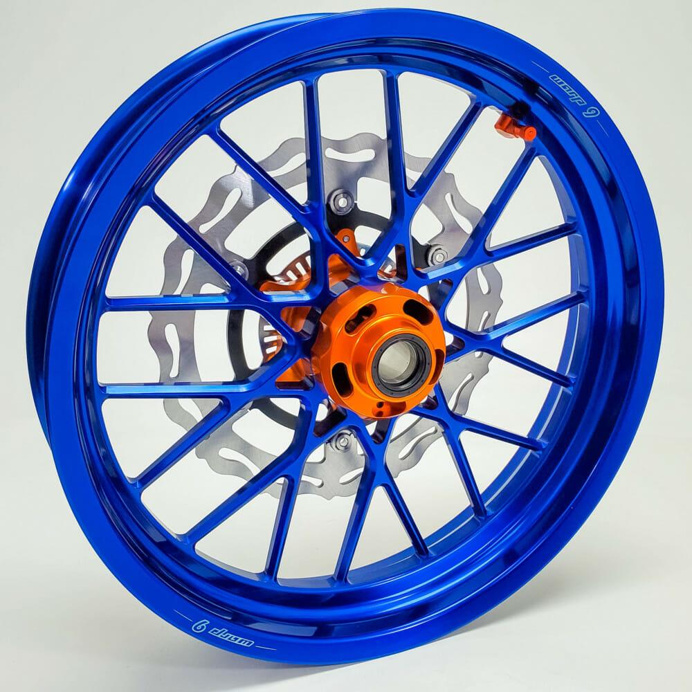 Warp 9 Racing Rogue Tubeless Supermoto Wheels