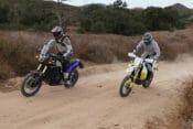 Yamaha Tenere 700 vs. Husqvarna 701 Enduro LR
