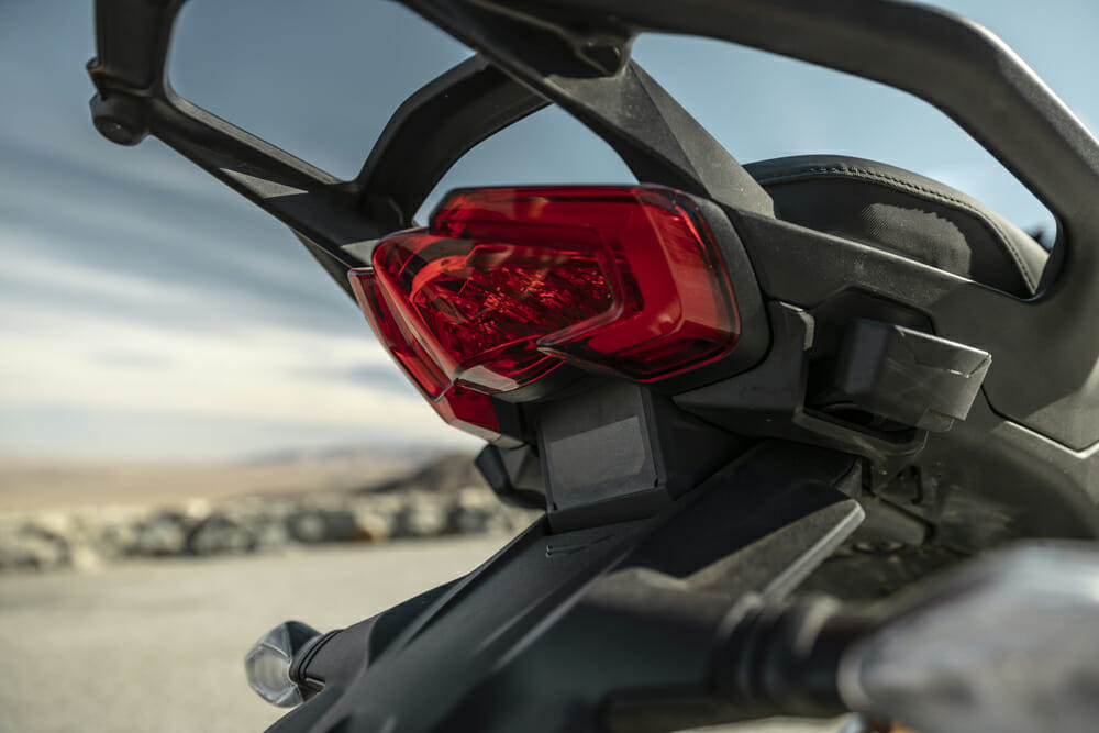 2021 Ducati Multistrada V4 S Blind Spot Detection