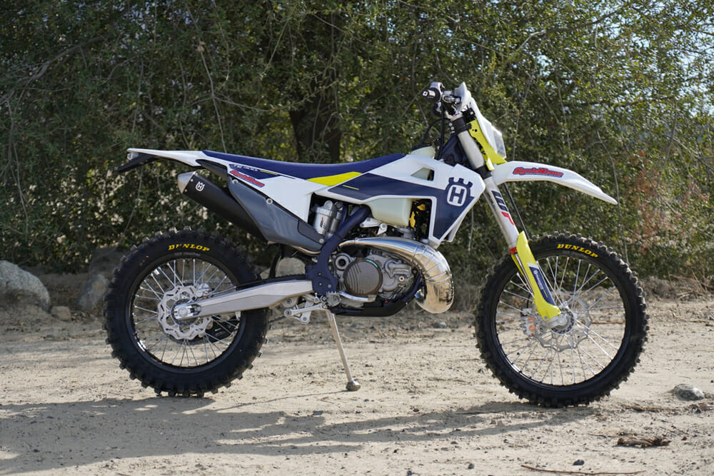 2021 Husqvarna TE 300i Right Side