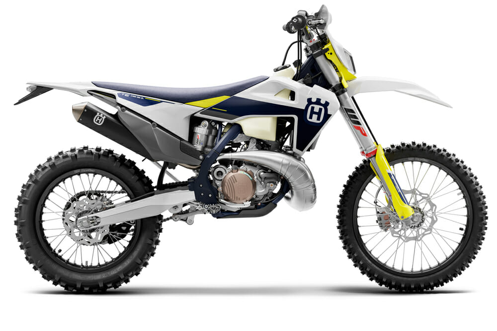 2021 Husqvarna TE 300i right side view