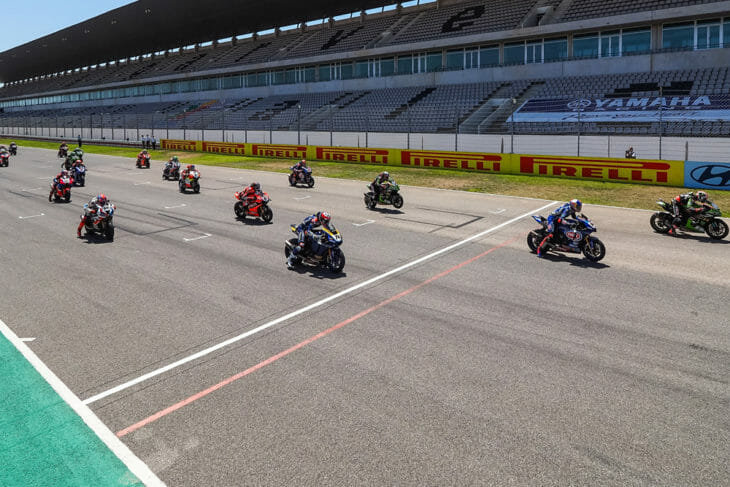 2021 WorldSBK Rider Entry List