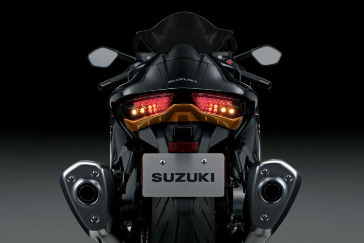 2022 Suzuki Hayabusa First Look tail