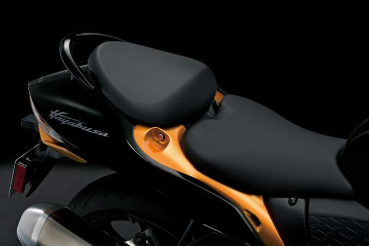 2022 Suzuki Hayabusa First Look seat