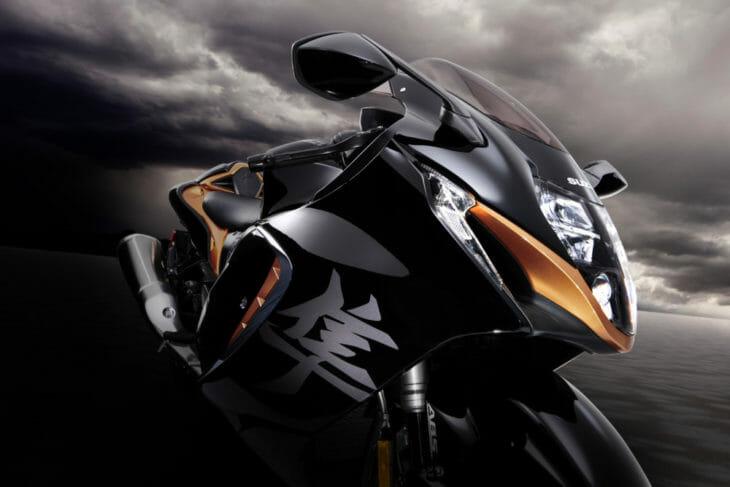 2022 Suzuki Hayabusa First Look dark