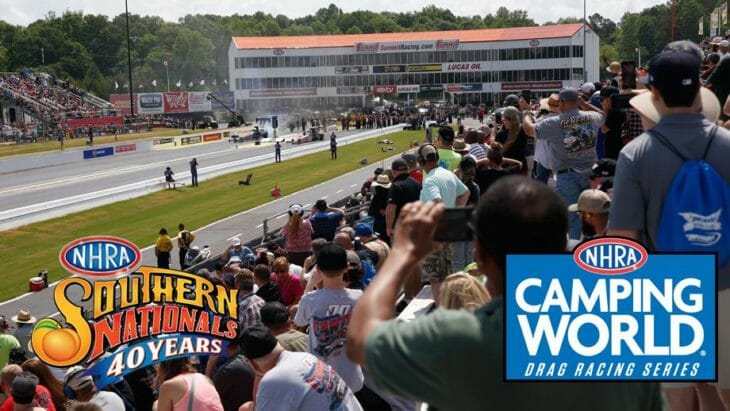 NHRA Southern Nationals Rescheduled