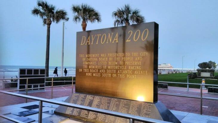 AHRMA Daytona 200 Monument