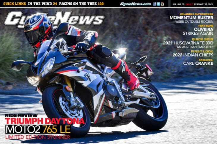 Cycle News Magazine 2021 Issue 7