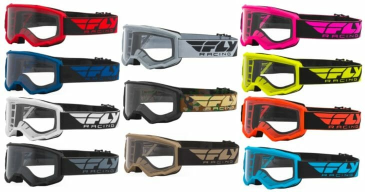 Fly Racing 2021 Focus Goggles colorways