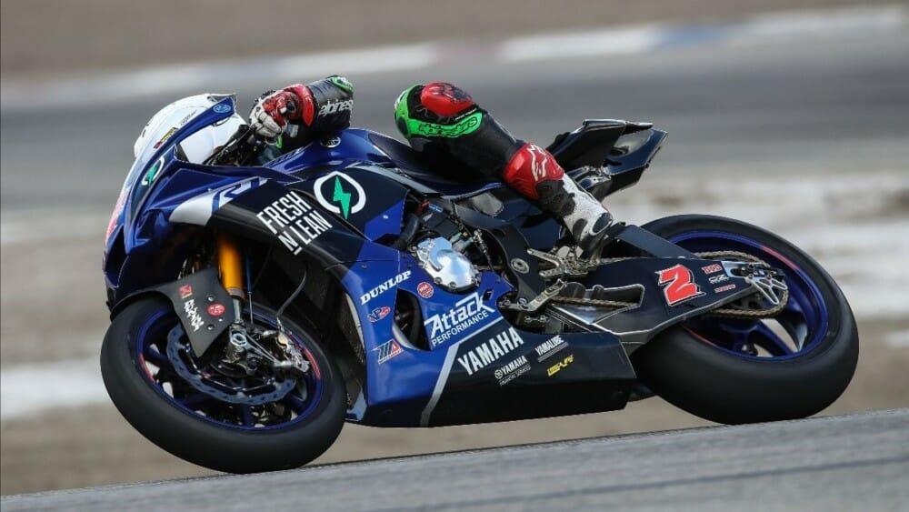 Fresh N' Lean Attack Performance Yamaha team