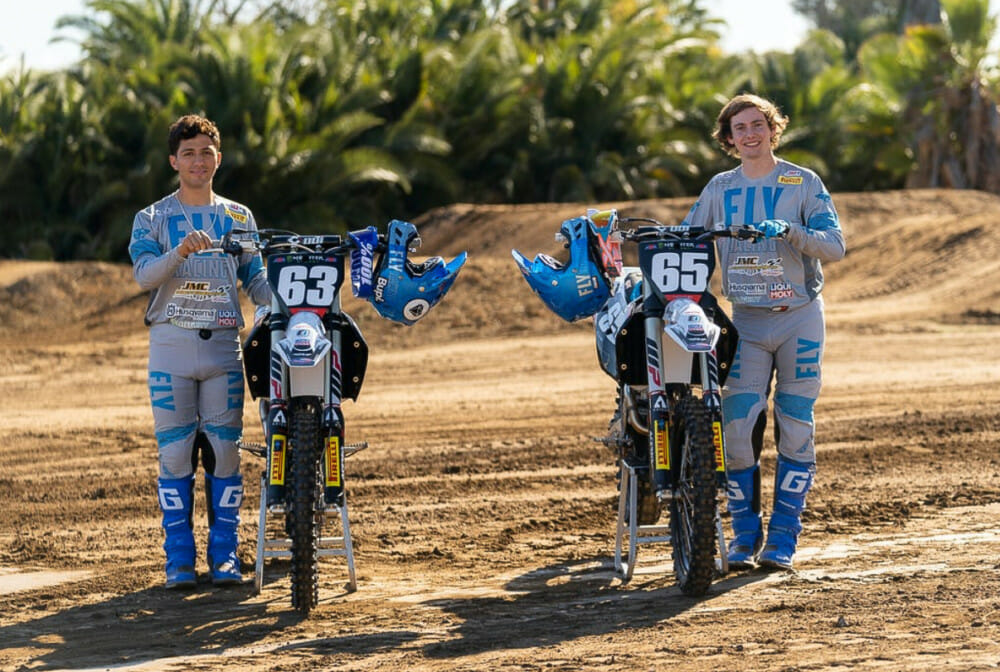 JMC Motorsports Racing Announces 2021 250SX West Team