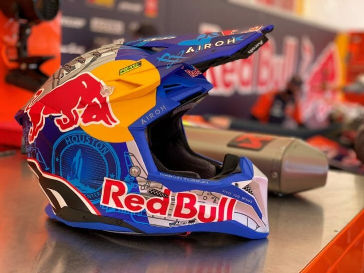 Marvin Musquin Auctioning Custom Helmet to Support Charity