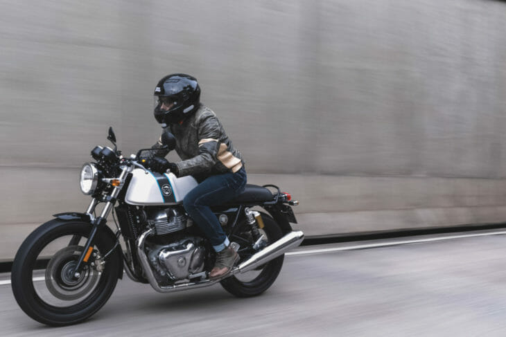 Ohlins USA Partners with Royal Enfield Build Train Race