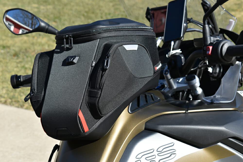 SW-Motech Pro Tank Bag and Tank Ring Review