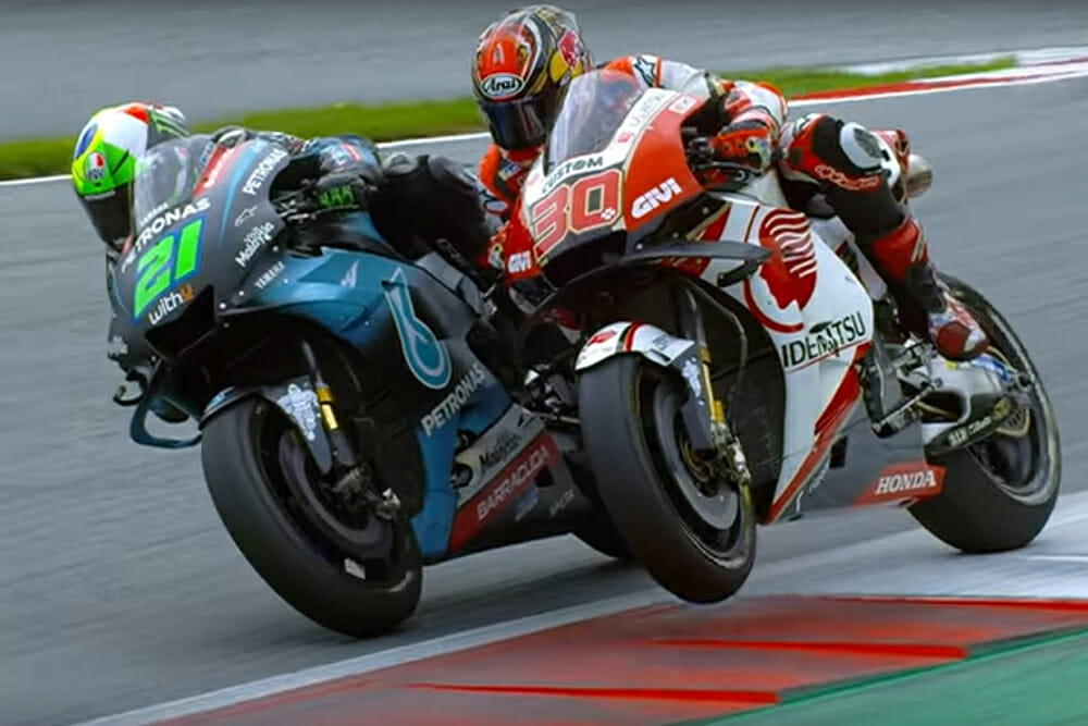 MotoGP 21 Videogame screenshot