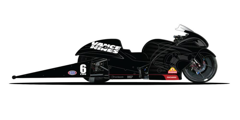 Vance & Hines New Four-Valve Suzuki-Powered Bike