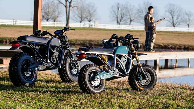 Volcon Announces All-Electric Motorcycle for Kids