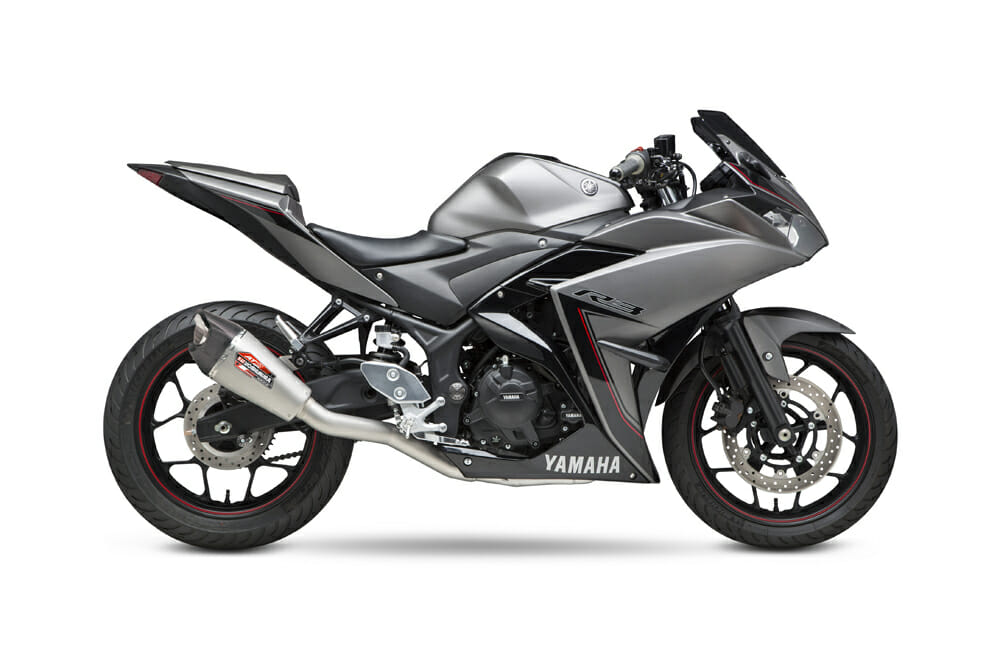 Yoshimura Introduces AT2 Race Series Full System for Yamaha YZF-R3