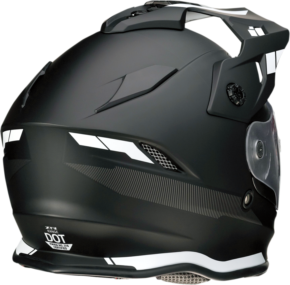Z1R Range Uptake Helmet rear view