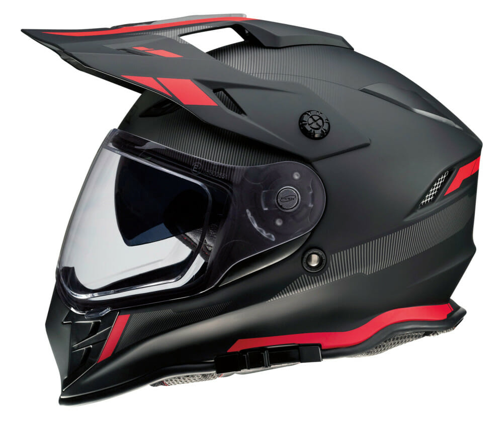 Z1R Range Uptake Helmet in red