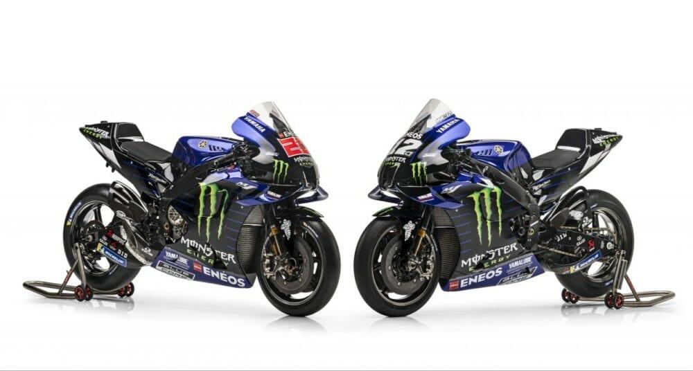 Yamaha MotoGP racebikes