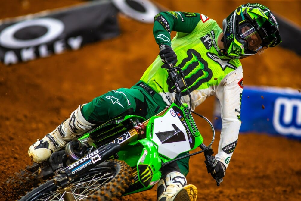 2021 Arlington 2 Supercross Rnd 11 Qualifying Results Eli Tomac Action