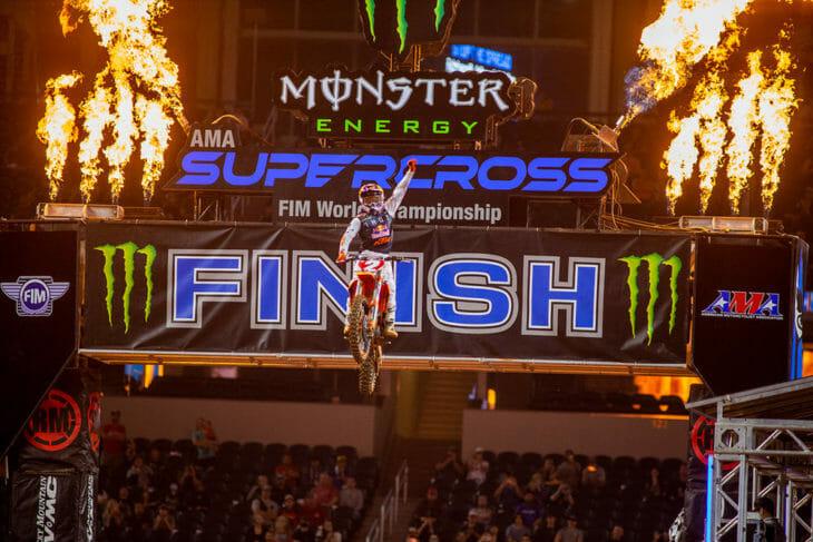 2021 Arlington 2 Supercross Rnd 11 Results Cooper Webb Finishline