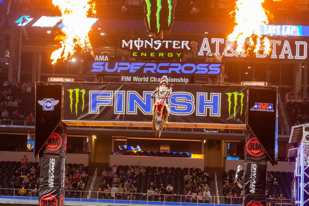 2021 Arlington 2 Supercross Rnd 11 Results Hunter Lawrence Finishline