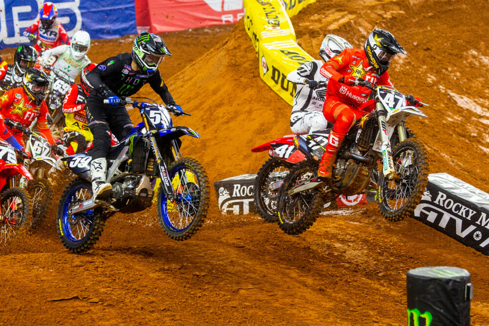 2021 Arlington 2 Supercross Rnd 11 Results Jalek Swoll Action