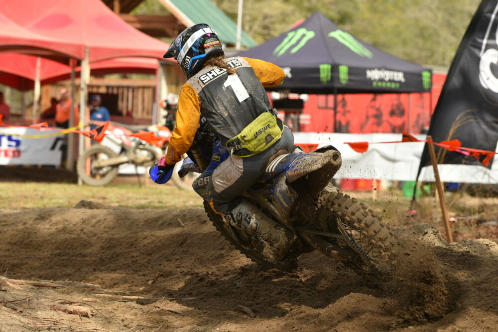 2021 Camp Coker GNCC Results Becca Sheets action