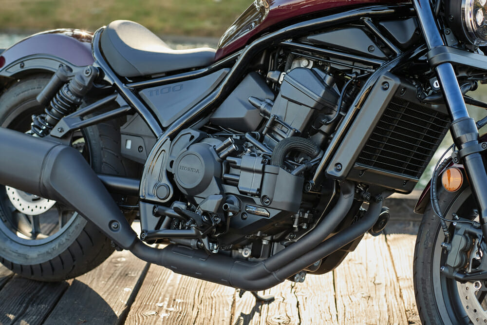 2021 Honda Rebel 1100 DCT engine