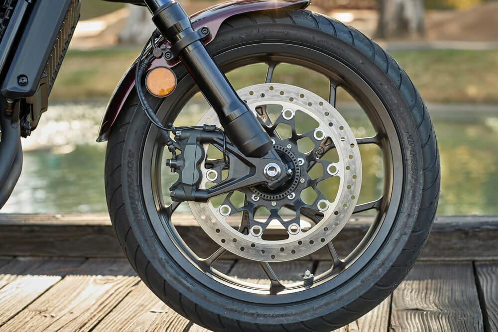 2021 Honda Rebel 1100 front wheel