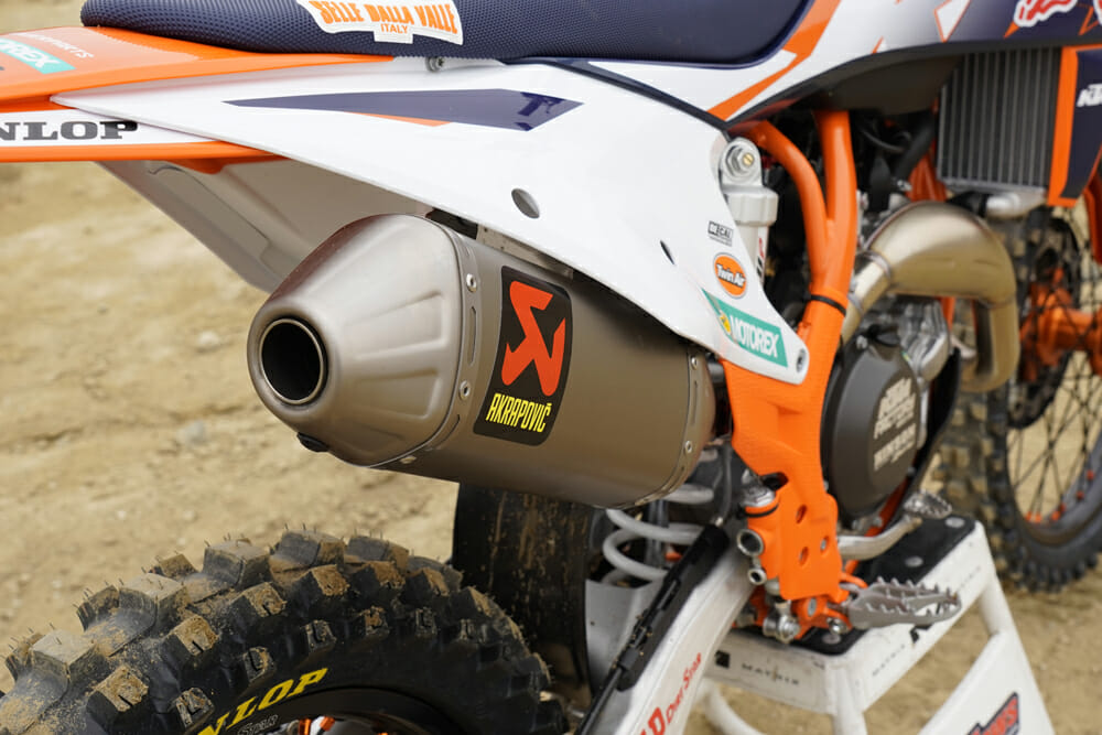 2021 KTM 450 SX-F Factory Edition Exhaust