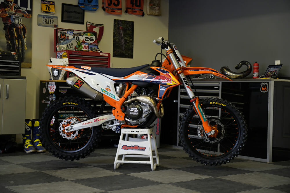 2021 KTM 450 SX-F Factory Edition Review