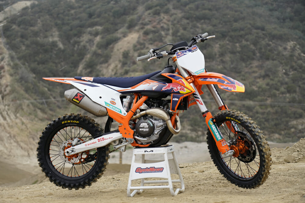 2021 KTM 450 SX-F Factory Edition Specifications