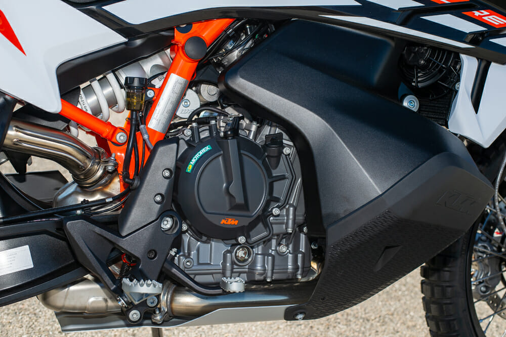 2021 KTM 890 Adventure R Engine