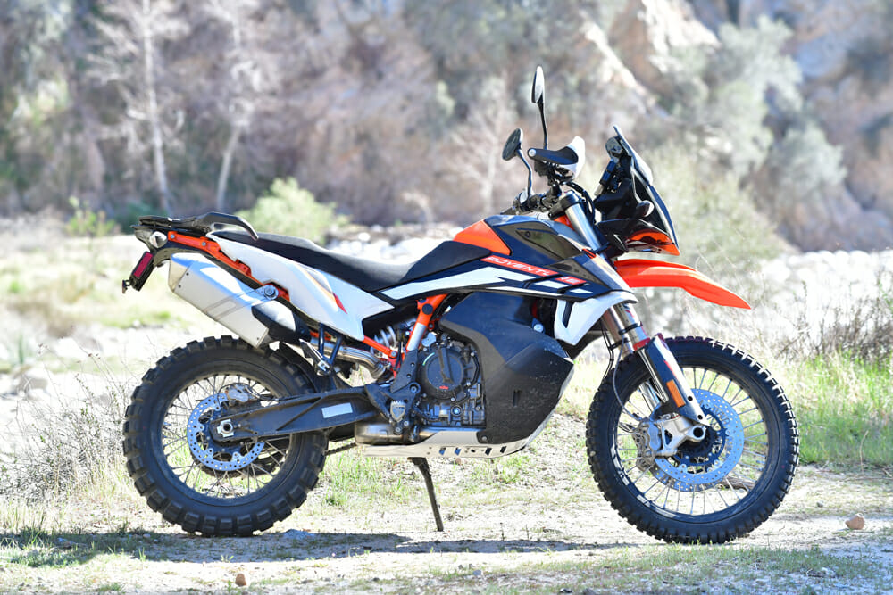 2021 KTM 890 Adventure R right side