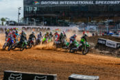 2021 Ricky Carmichael Daytona Amateur Supercross race start