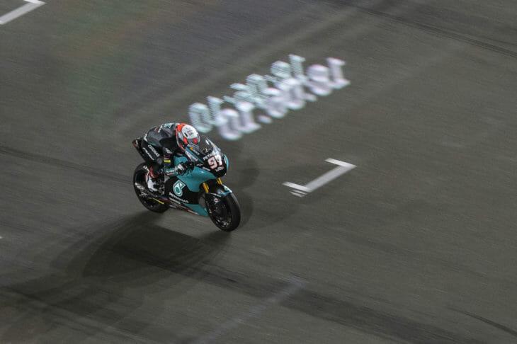 2021 Qatar Moto2 Test Vierge