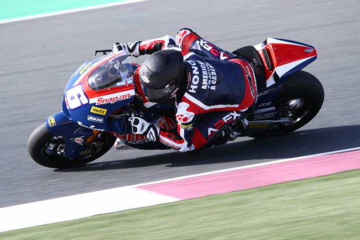 2021 Qatar Moto2 Test Beaubier