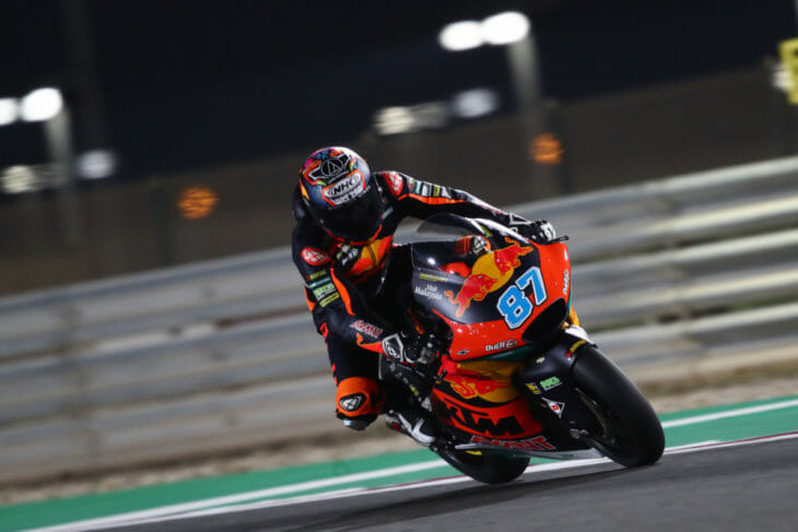 2021 Qatar Moto2 Test Gardner