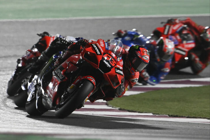 2021 Qatar MotoGP Results and News Bagnaia