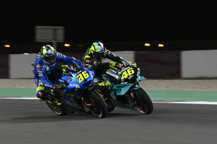 2021 Qatar MotoGP Results and News Mir