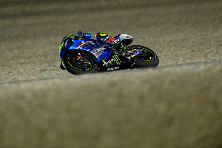 2021 Qatar MotoGP Test Results Day One Mir