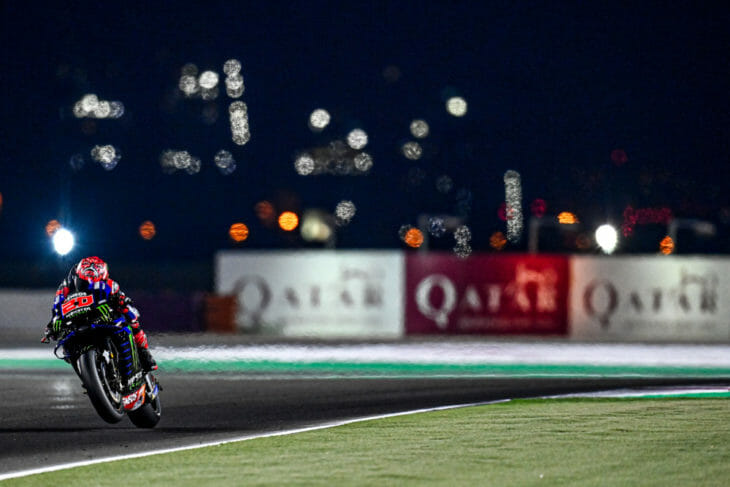 2021 Qatar MotoGP Test Results Quartararo Combined
