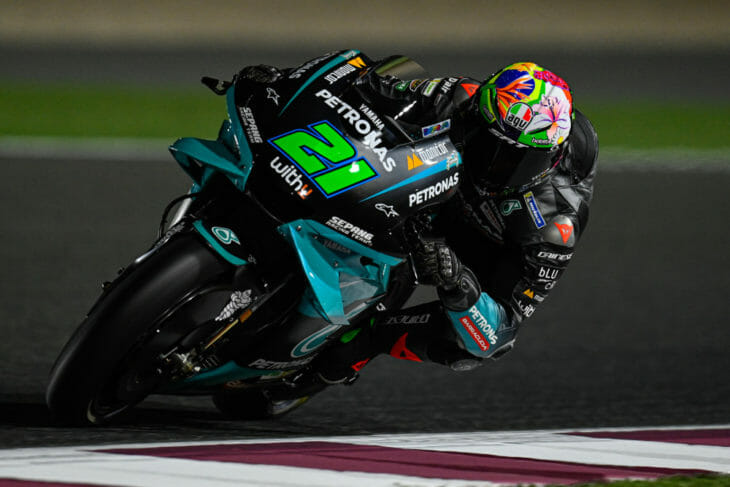 2021 Qatar MotoGP Test Results Day One Morbidelli