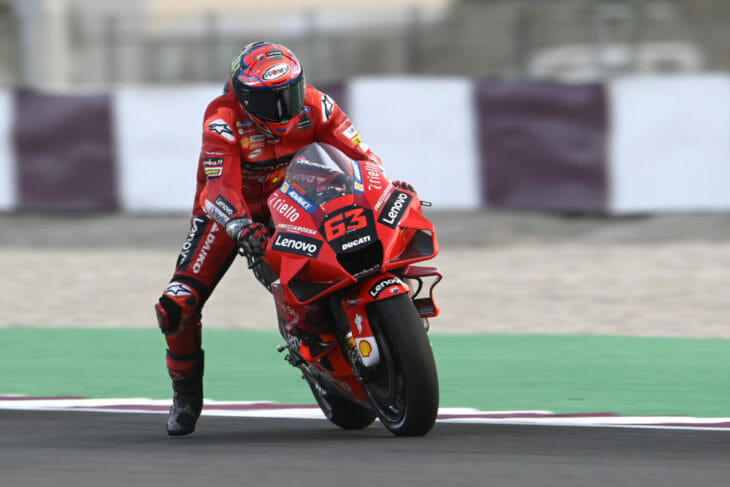 2021 Qatar MotoGP Test Results Day Four Bagnaia