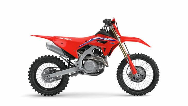 2022 Honda CRF450 Off-Road Models First Look